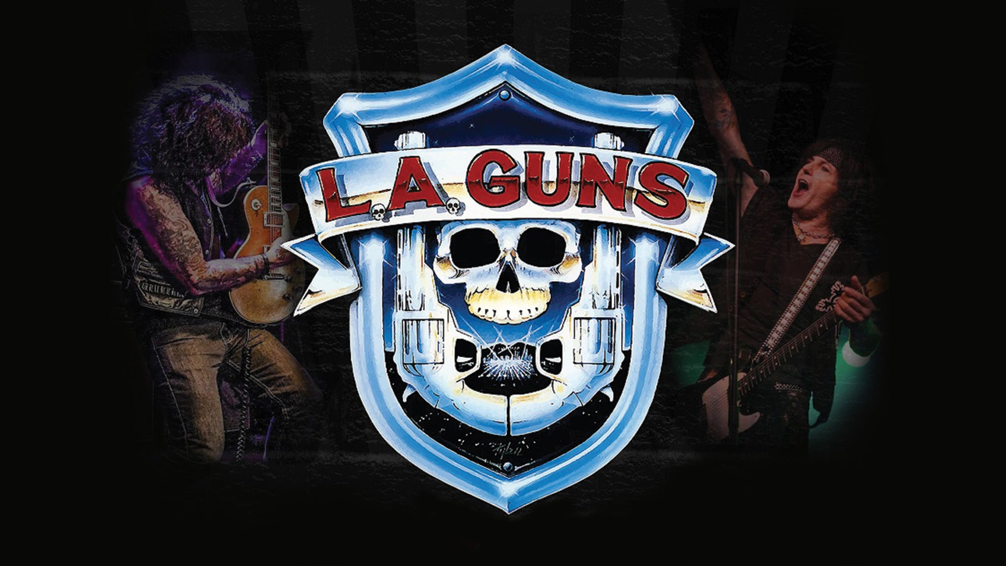 L.A. Guns Starring Phil Lewis & Tracii Guns