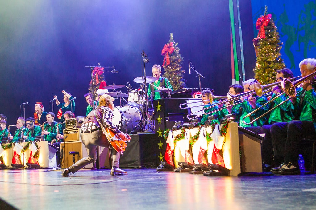 Siriusxm Presents the Brian Setzer Orchestra Christmas Tour 1