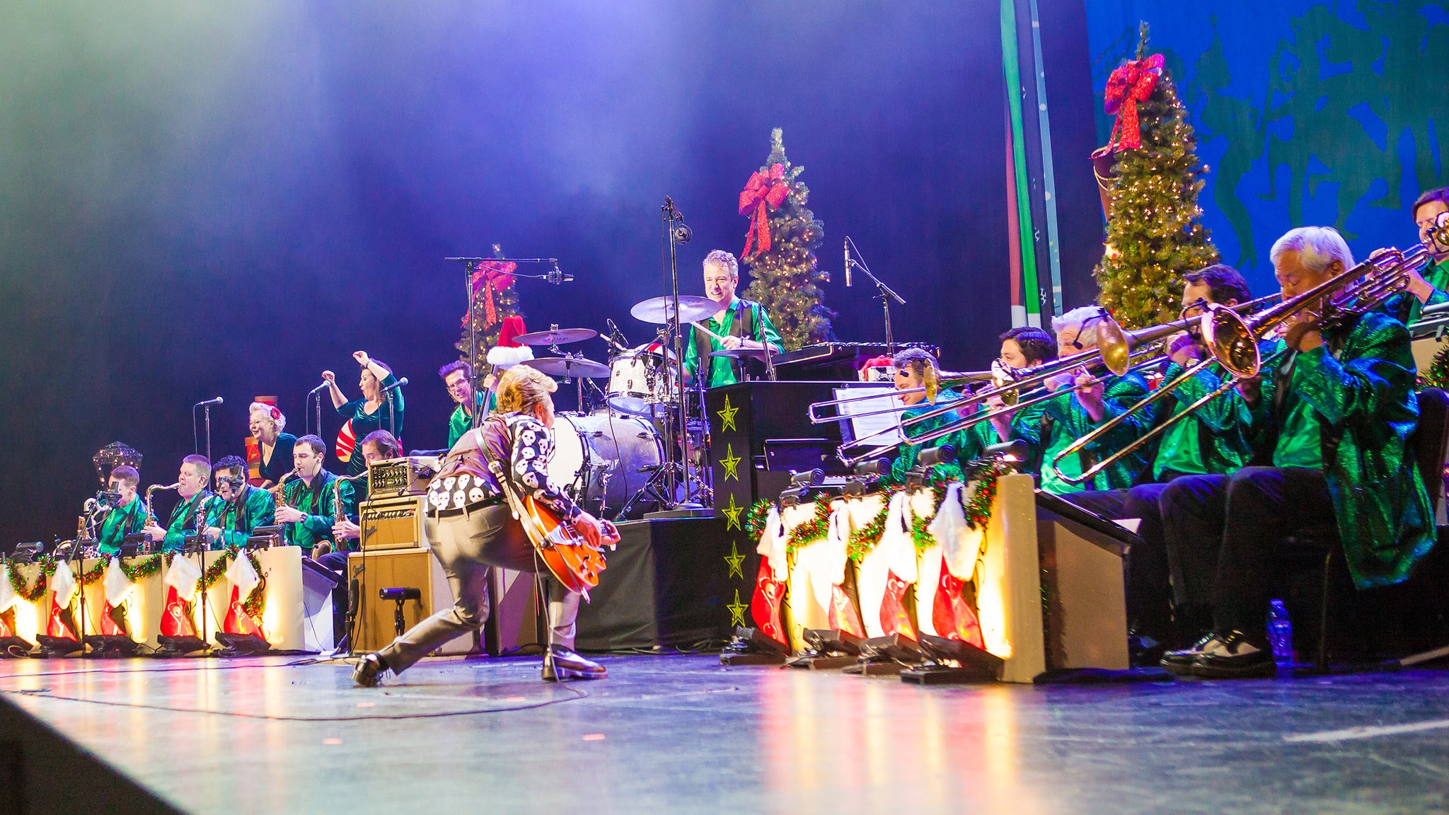 Brian Setzer Orchestra at Ruth Eckerd Hall