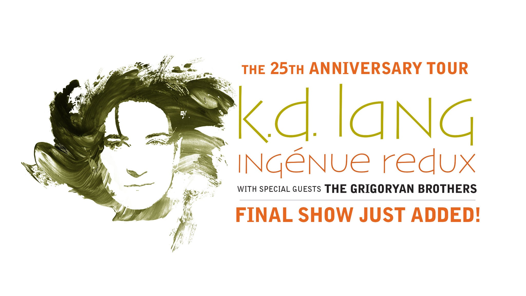 k.d lang Ingénue Redux Tour at Chandler Center for the Arts
