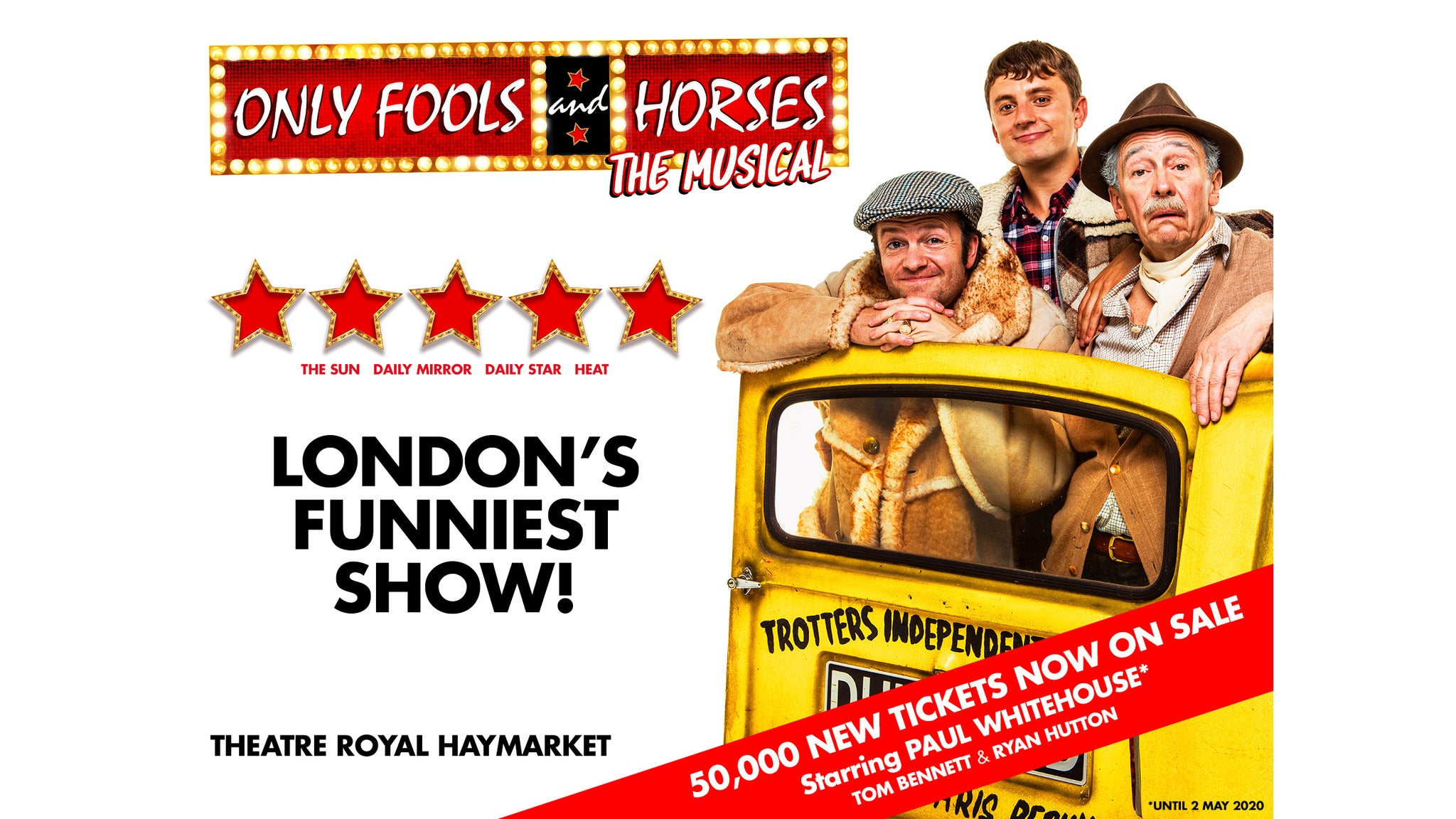Only Fools and Horses The Musical Event Title Pic
