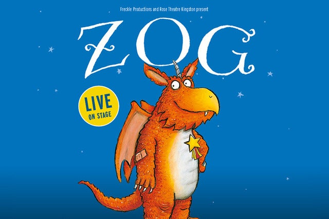 Zog tickets (Copyright © Ticketmaster)