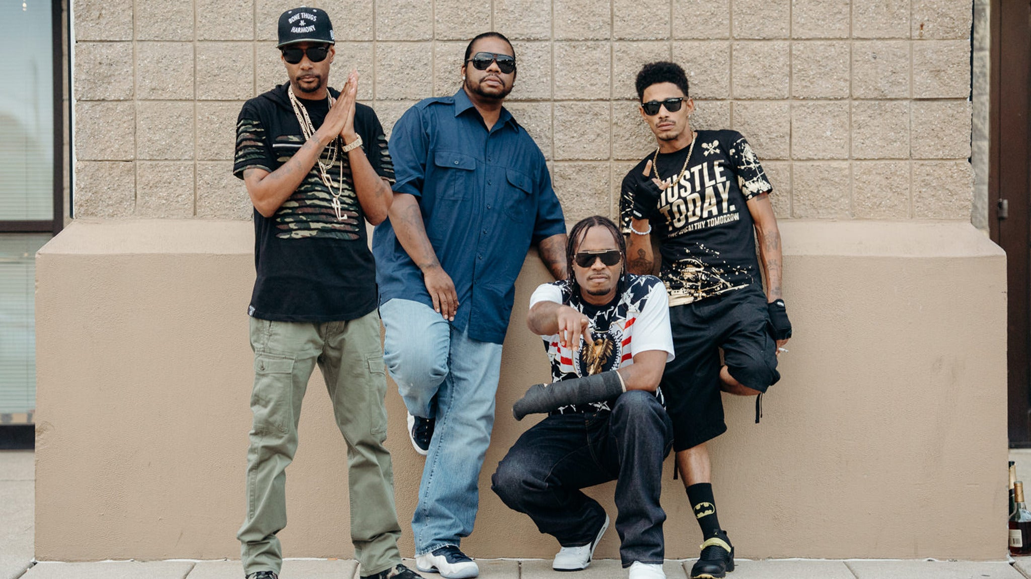 Bone Thugs-N-Harmony at Azteca Theater