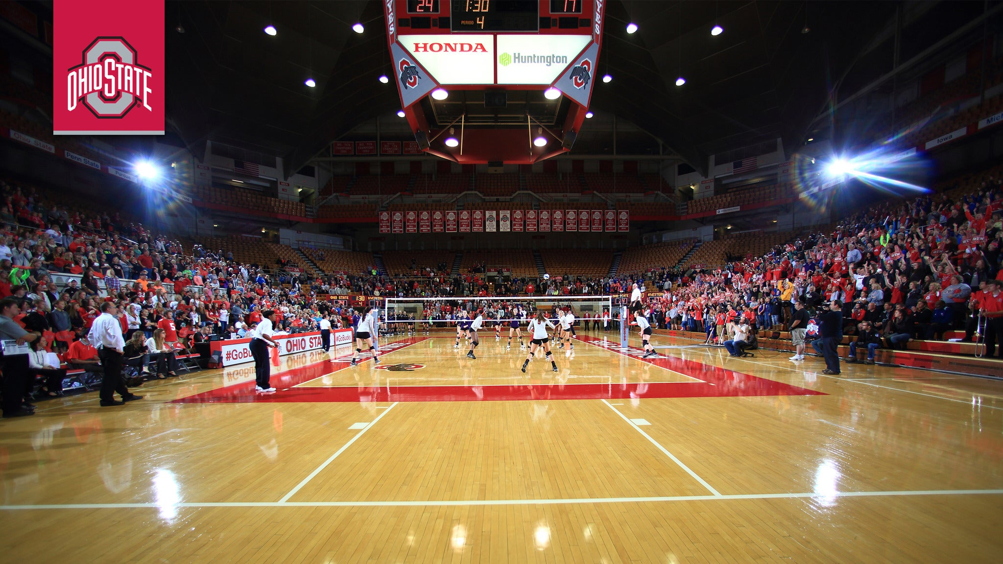 Ohio State Buckeyes Womens Volleyball vs. Iowa Hawkeyes Womens Volleyball