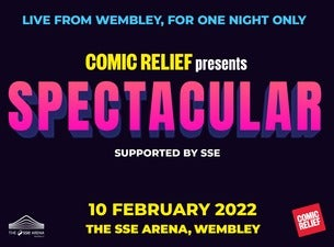 Comic Relief Spectacular SSE Arena Wembley Seating Plan