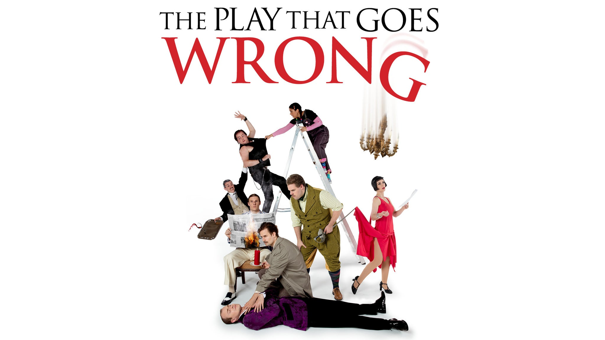 The Play That Goes Wrong at Bushnell Theatre/ Mortensen Hall