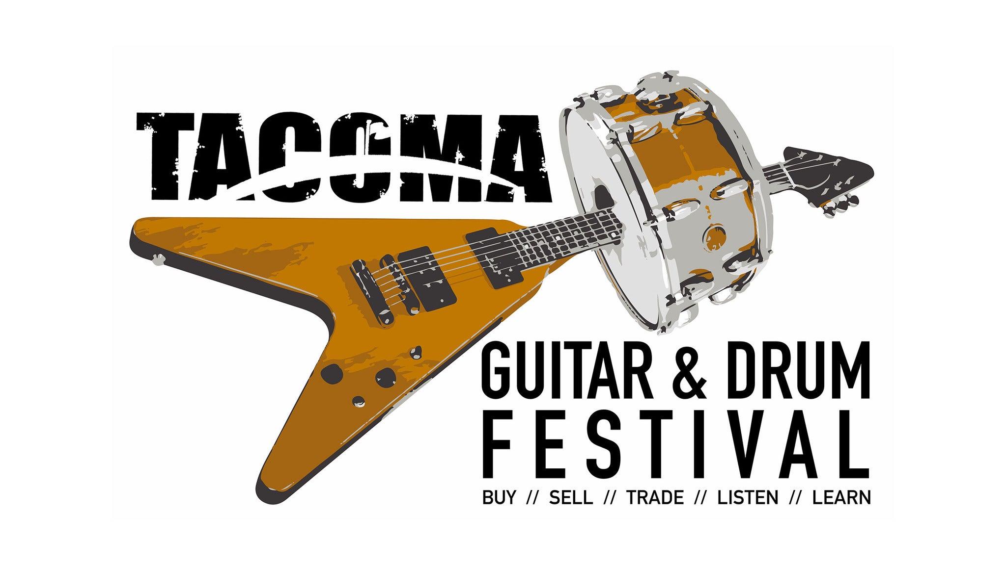 Tacoma Guitar & Drum Festival