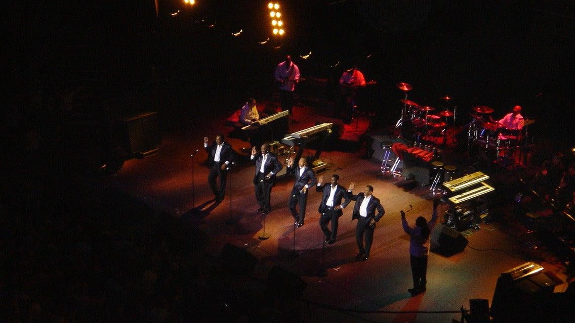 The Temptations at Coronado Performing Arts Center