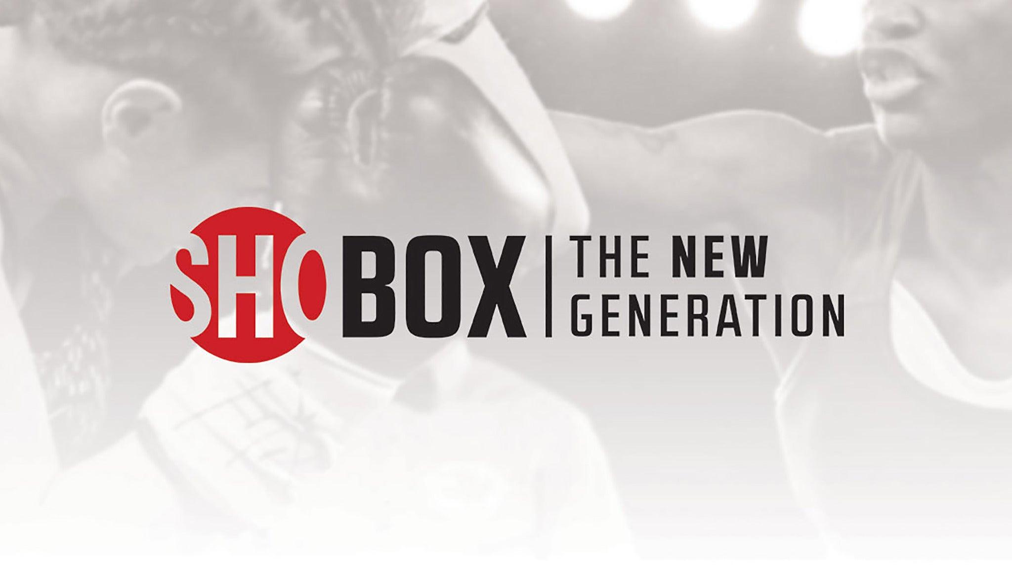 ShoBox: The New Generation at Pechanga Resort and Casino