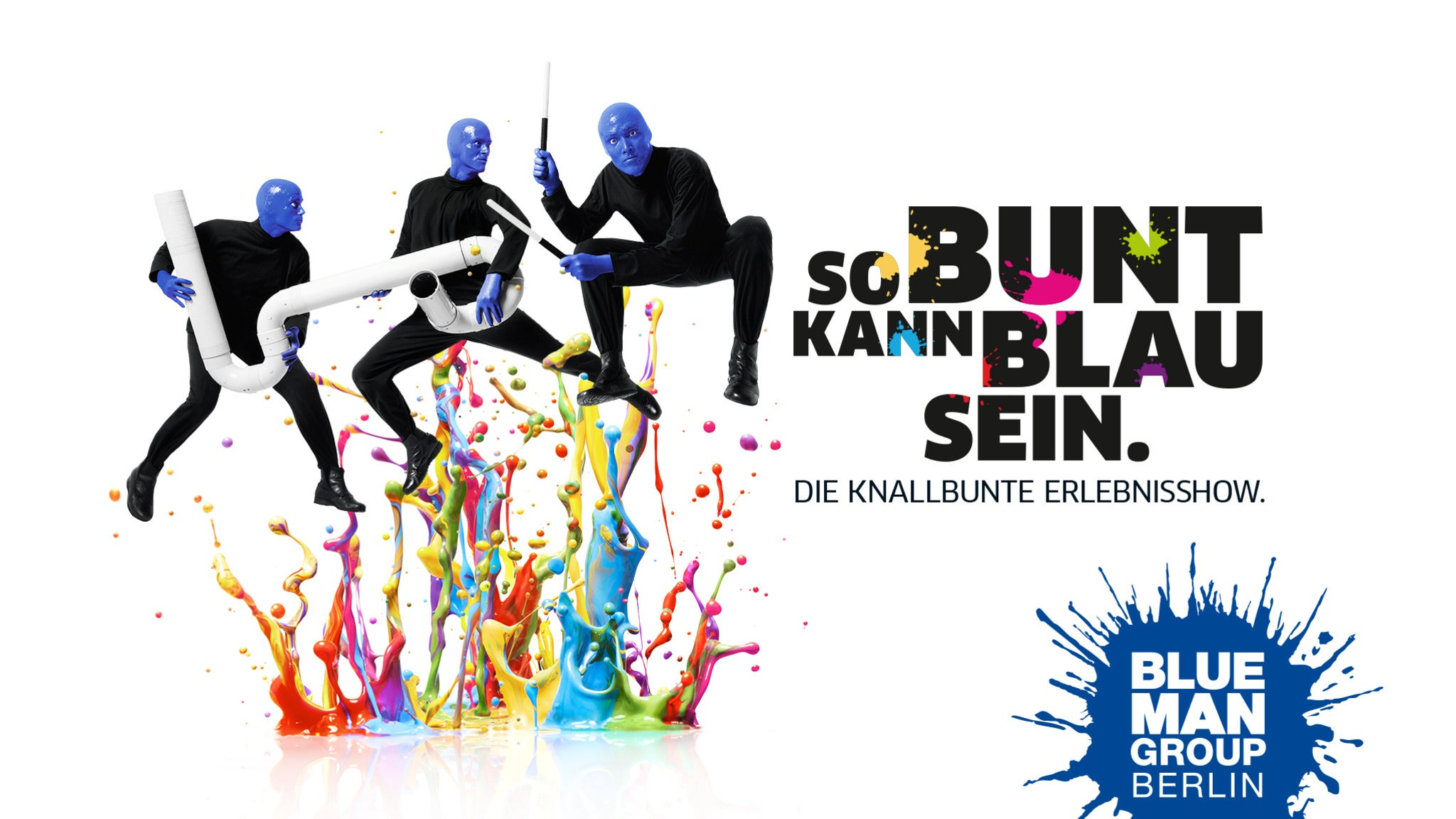 BLUE MAN GROUP in Berlin