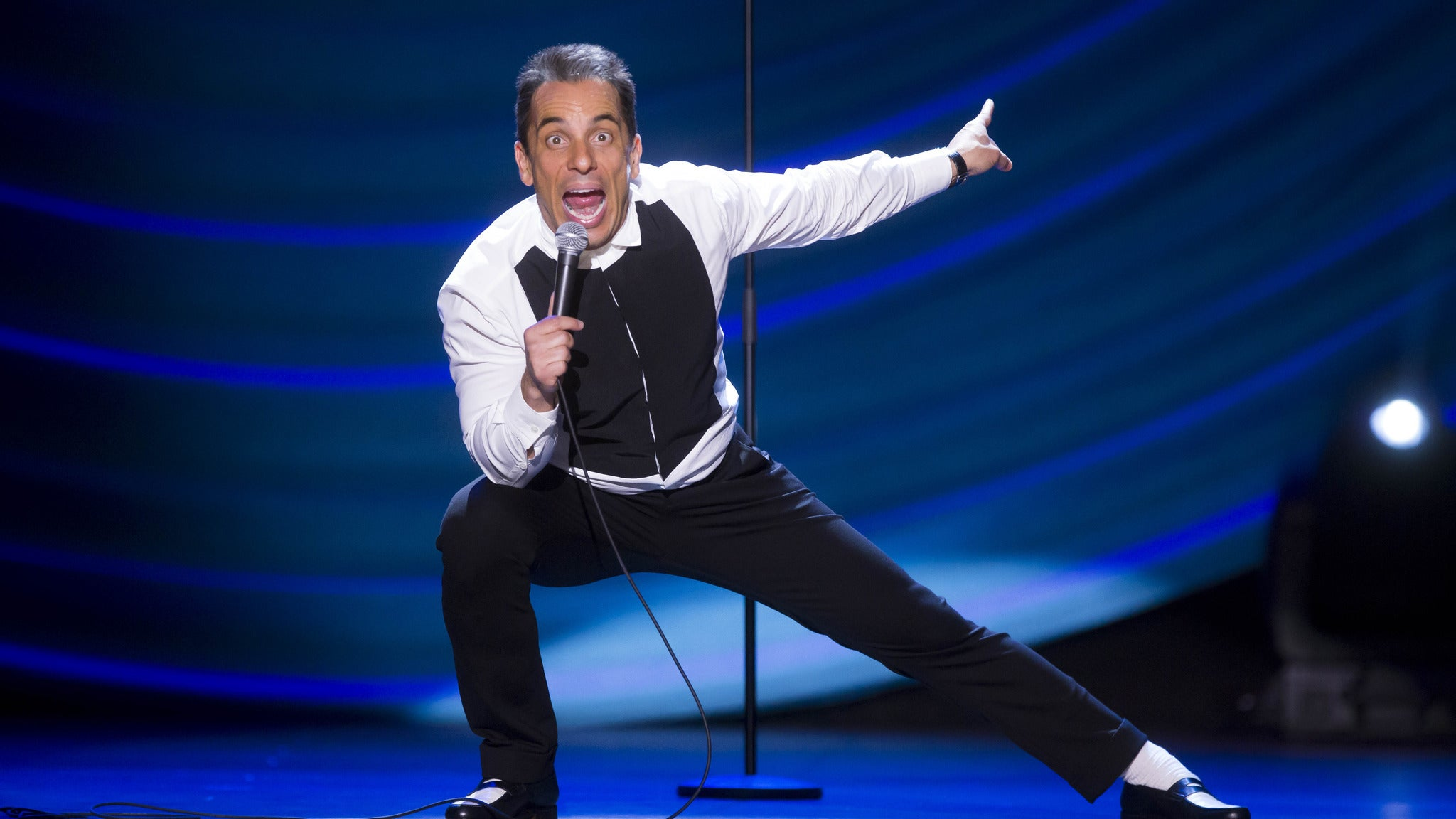 SORRY, THIS EVENT IS NO LONGER ACTIVE<br>Sebastian Maniscalco at The Chicago Theatre - Chicago, IL 60601