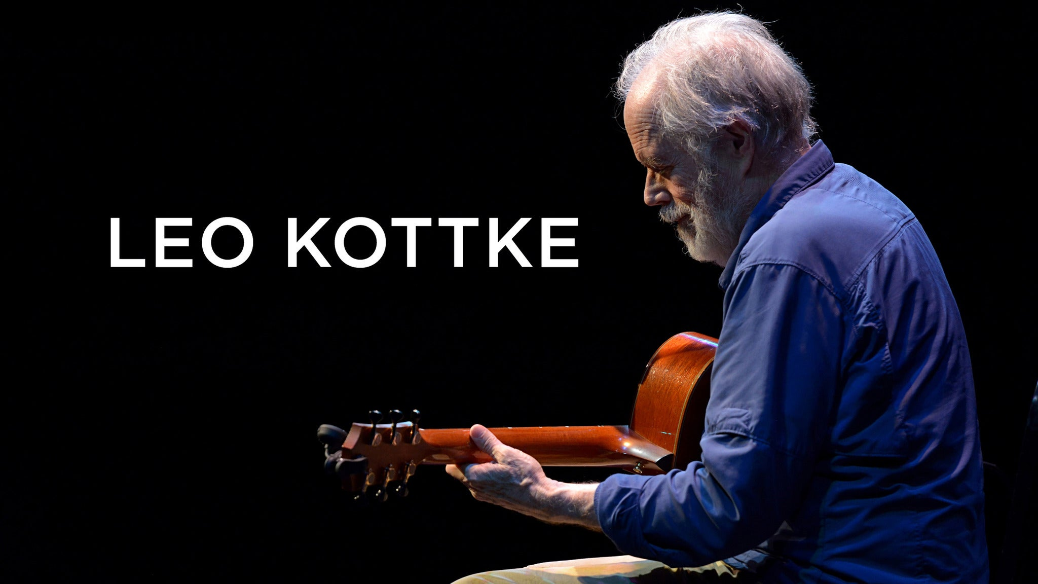 An Evening with Leo Kottke at Ponte Vedra Concert Hall