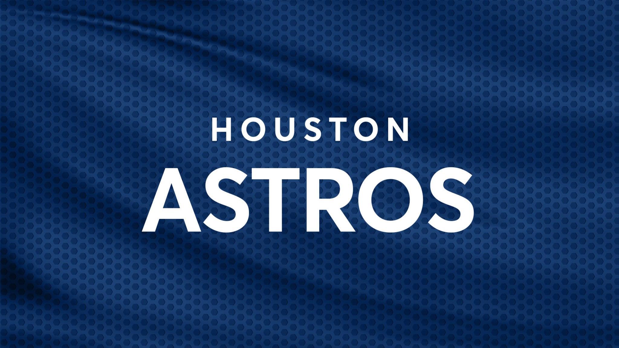 Houston Astros vs. St. Louis Cardinals