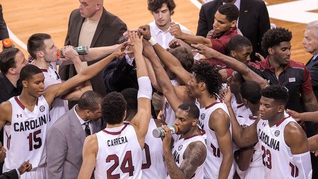 University of South Carolina Gamecocks Mens Basketball vs. Auburn University Tigers Mens Basketball // Columbia