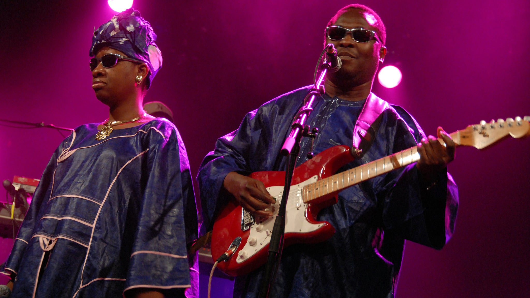 Amadou & Mariam - In The Flex Stage! at Birchmere