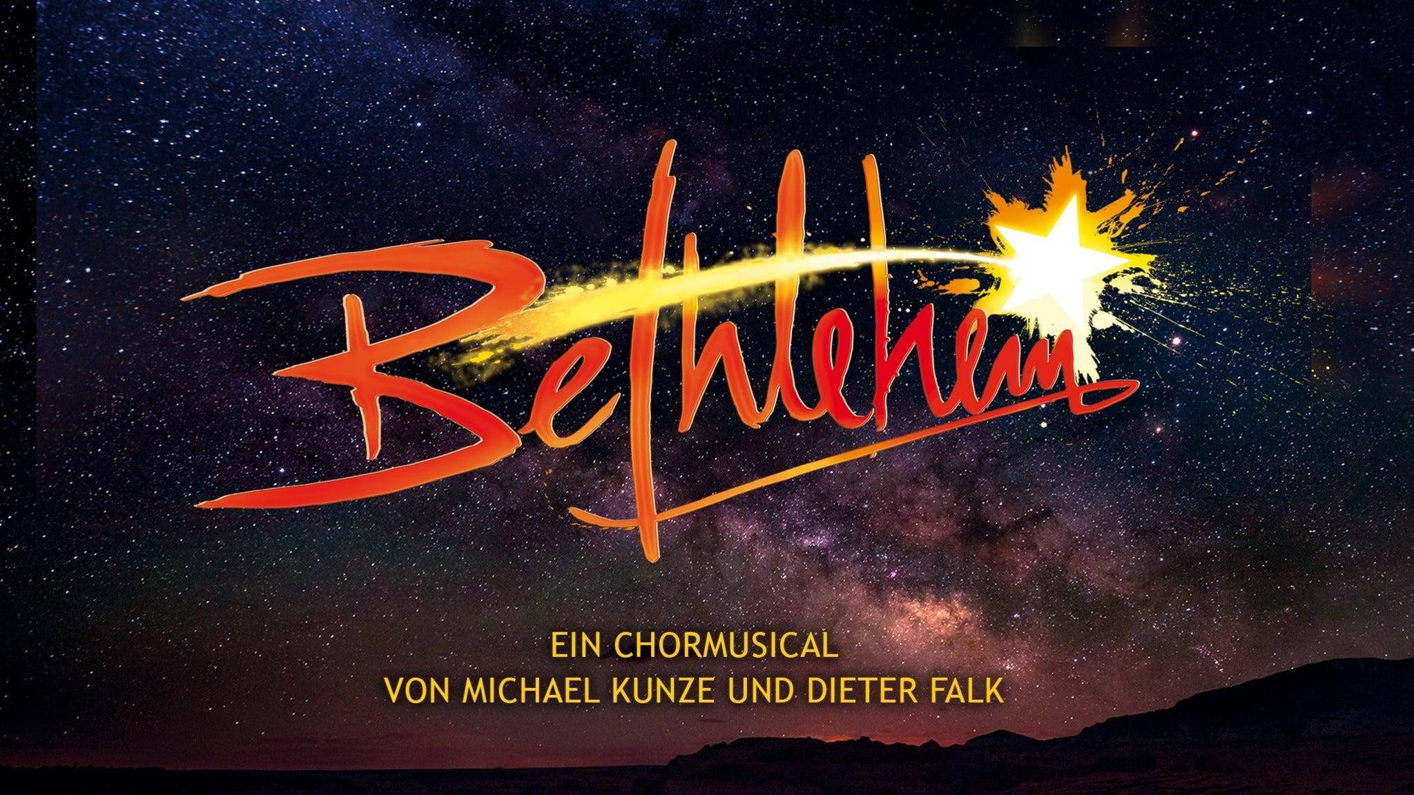 Bethlehem - Ein Chormusical