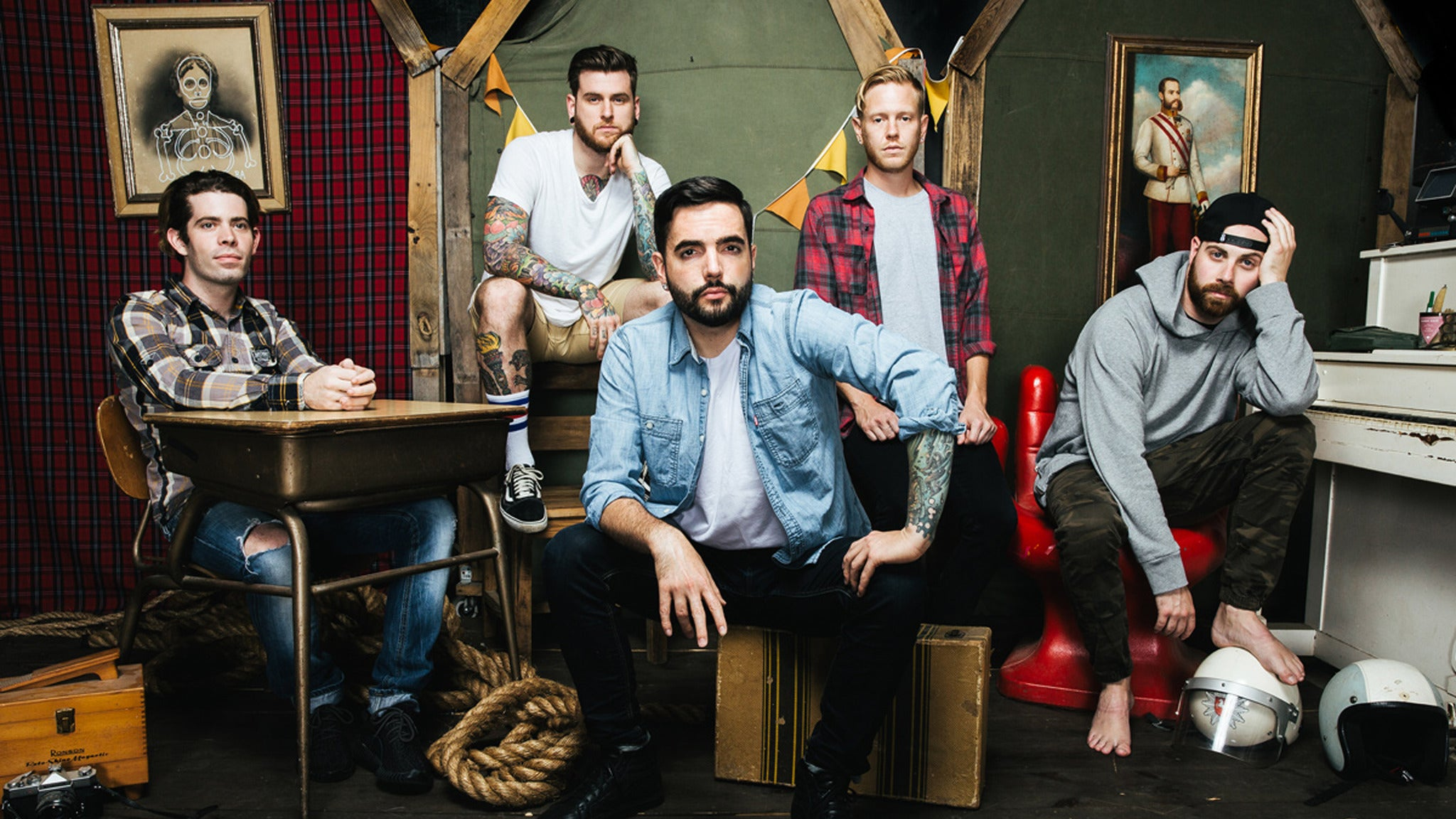 A DAY TO REMEMBER at Mesa Amphitheatre