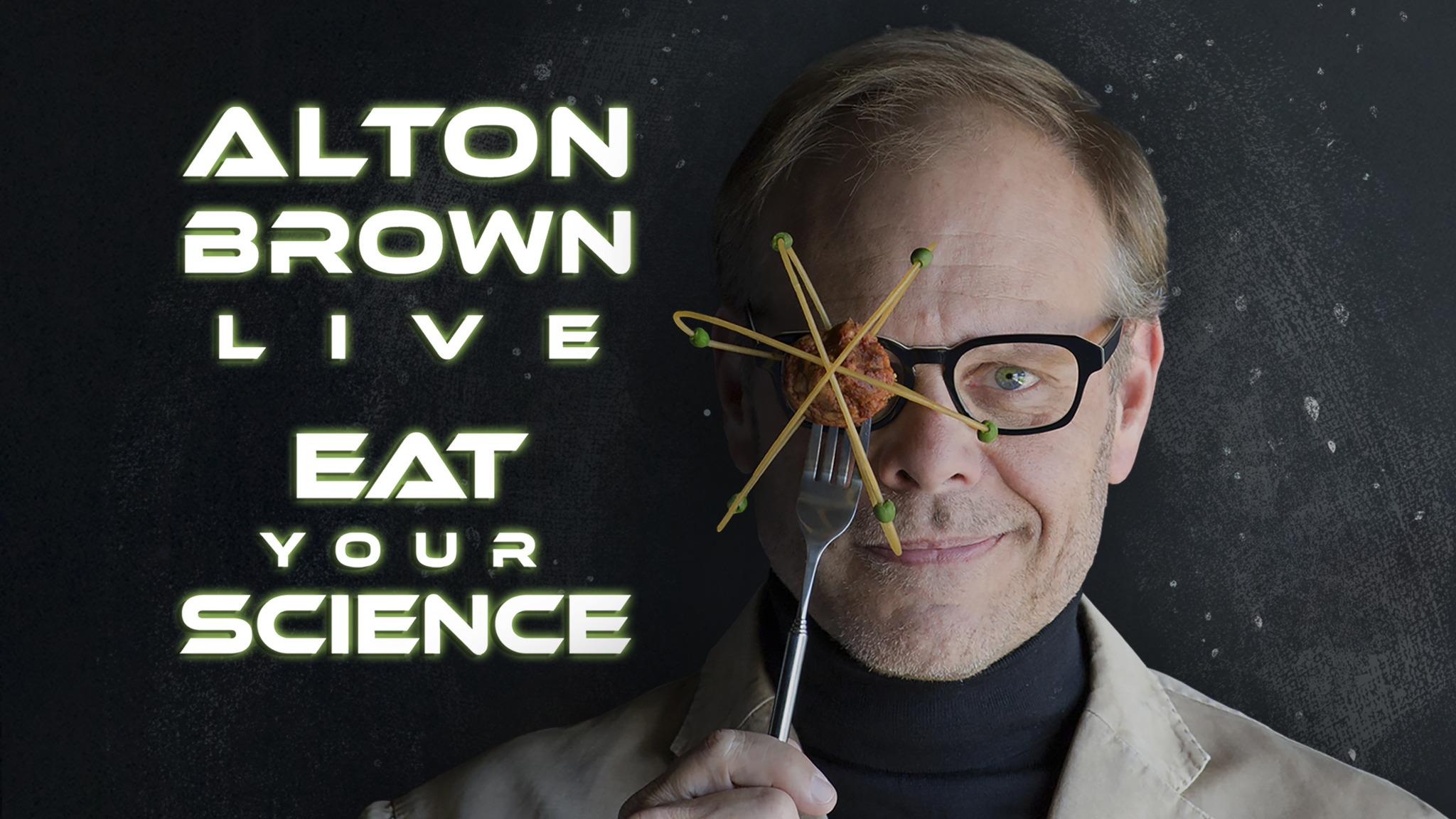 Alton Brown at Morrison Center for the Performing Arts