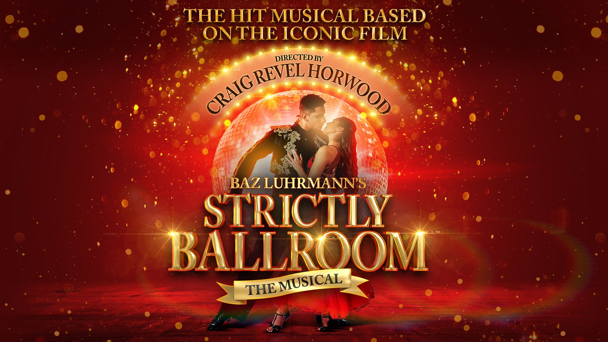 Strictly Ballroom tickets (Copyright © Ticketmaster)