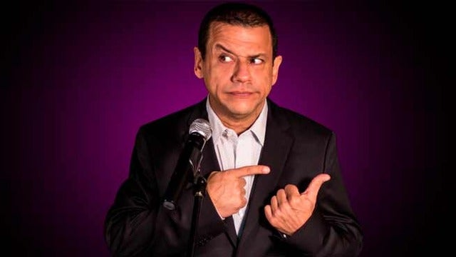Comedian Emilio Lovera at Aventura Arts & Cultural Center
