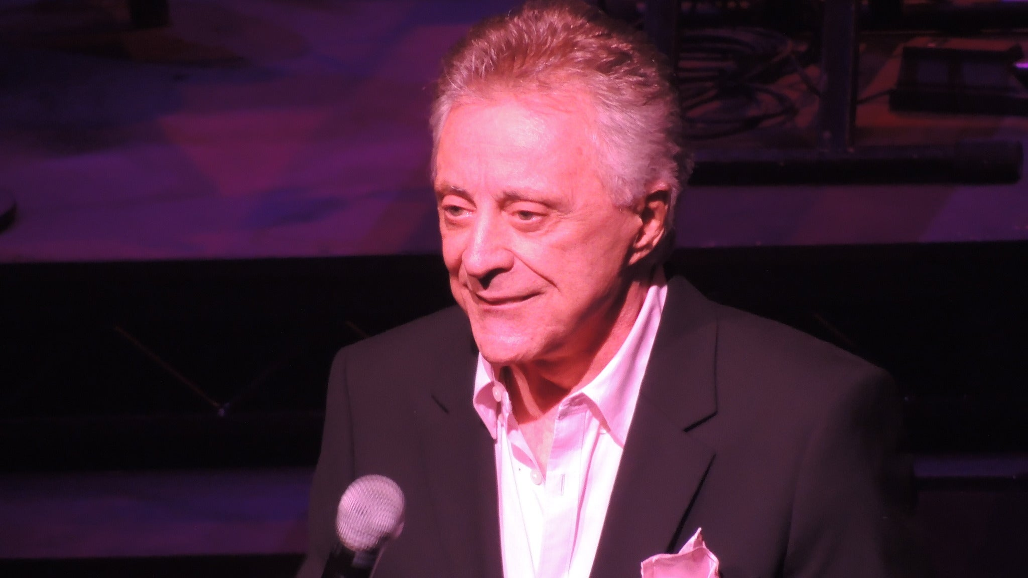 Frankie Valli at Chateau Ste Michelle Winery