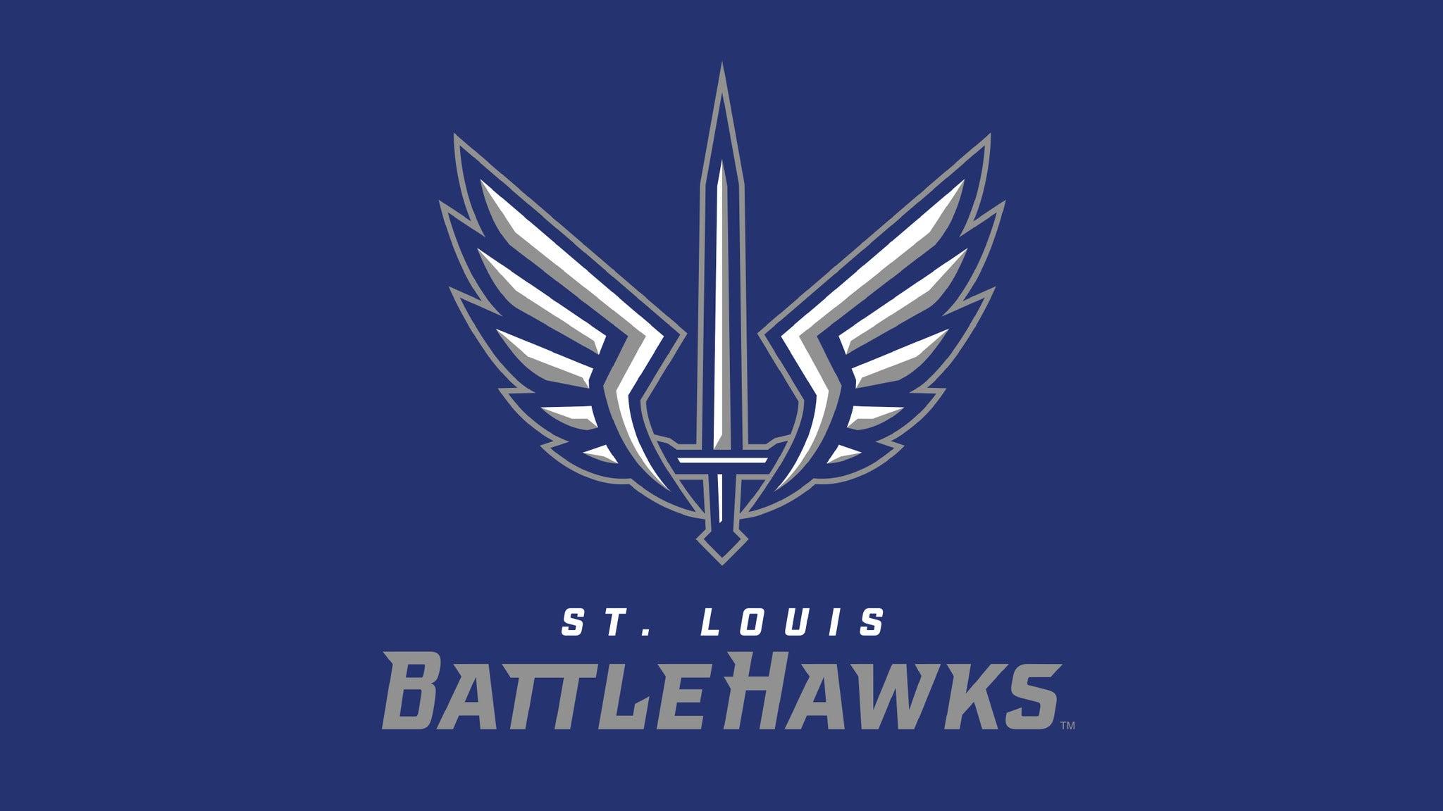 2020 St. Louis BattleHawks Full Season Plan