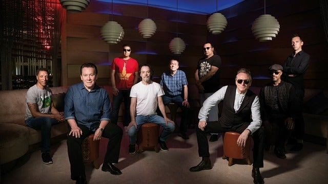 UB40 - 40th Anniverary - 'For The Many' Tour