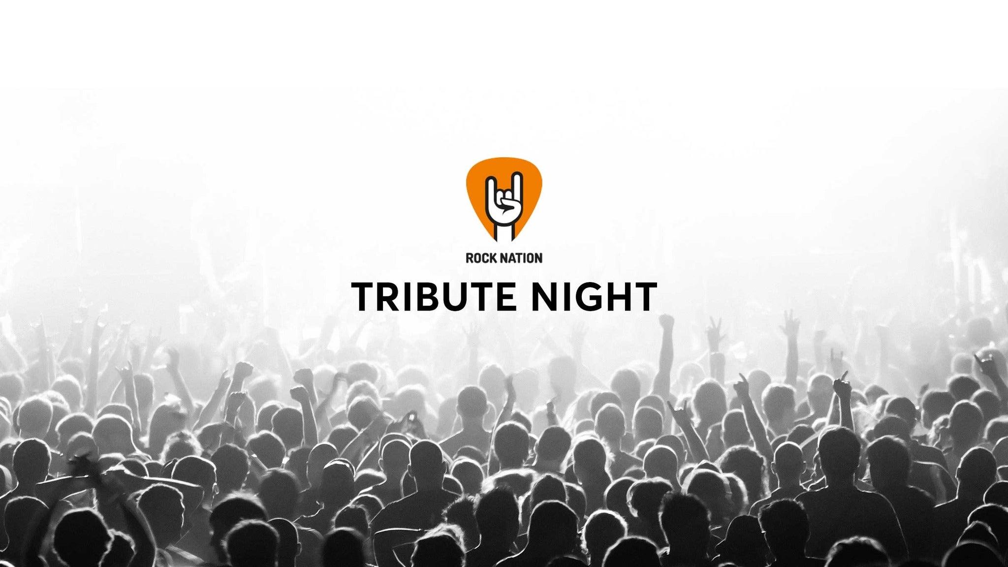 Rock Nation Tribute Night