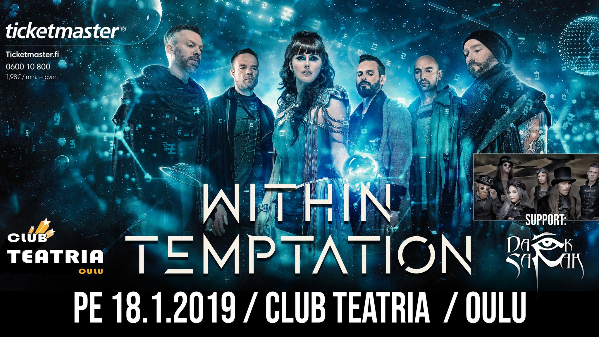 Within Temptation - Resist 2019 Tour