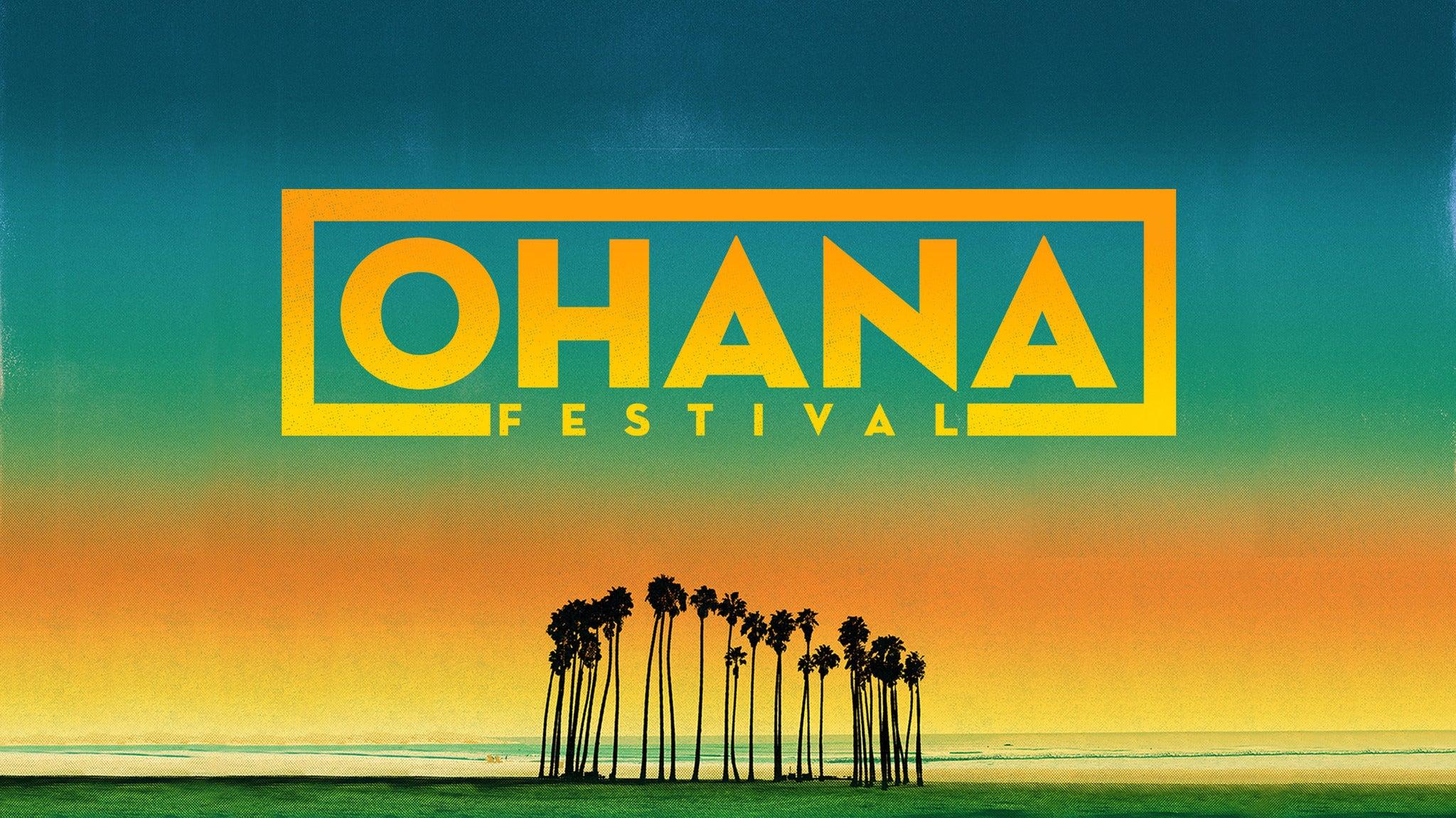 Ohana Festival - Friday Admission - Charity Platinum
