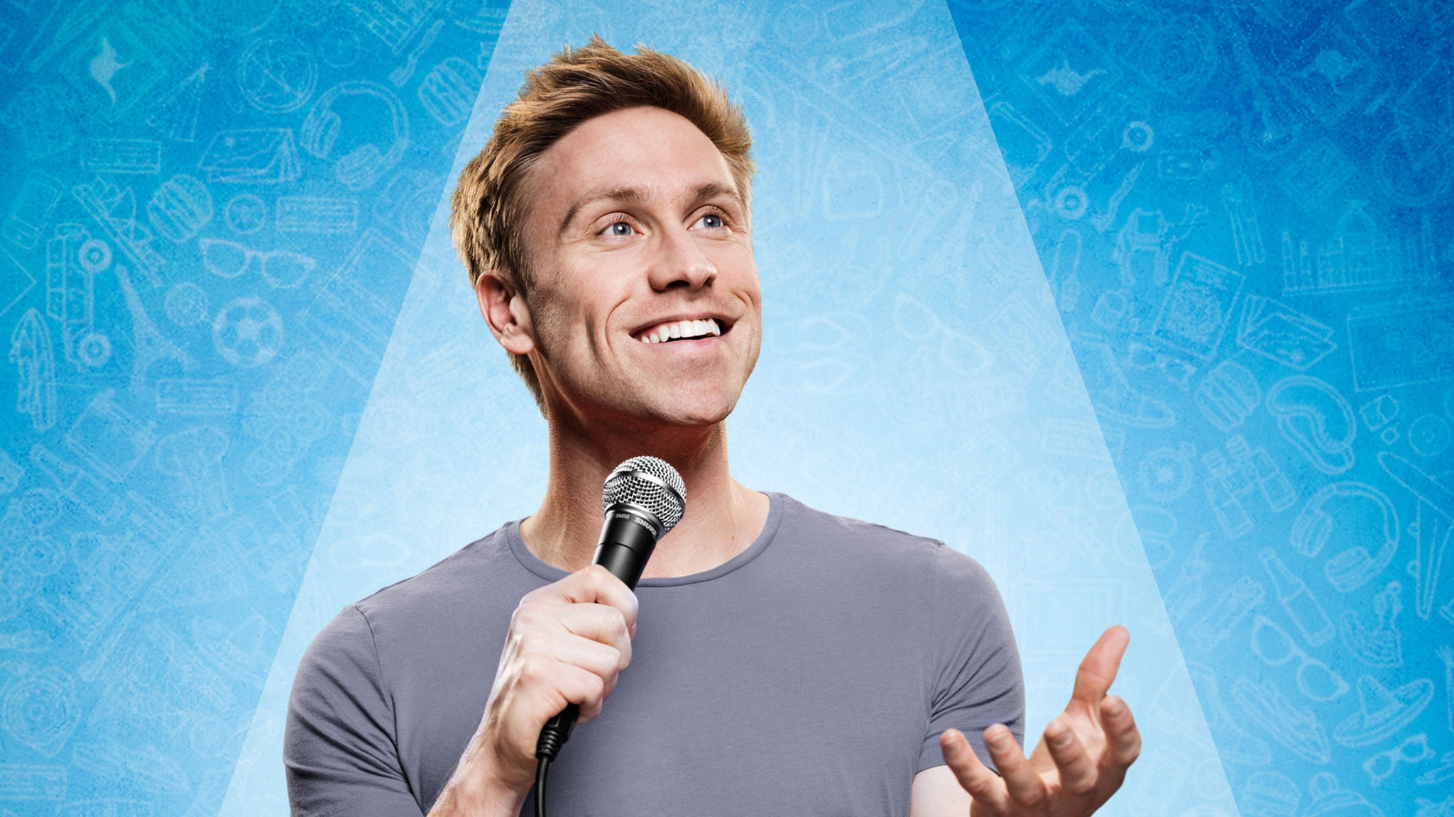 SORRY, THIS EVENT IS NO LONGER ACTIVE<br>Russell Howard: Round the World at Cobb's Comedy Club - San Francisco, CA 94133