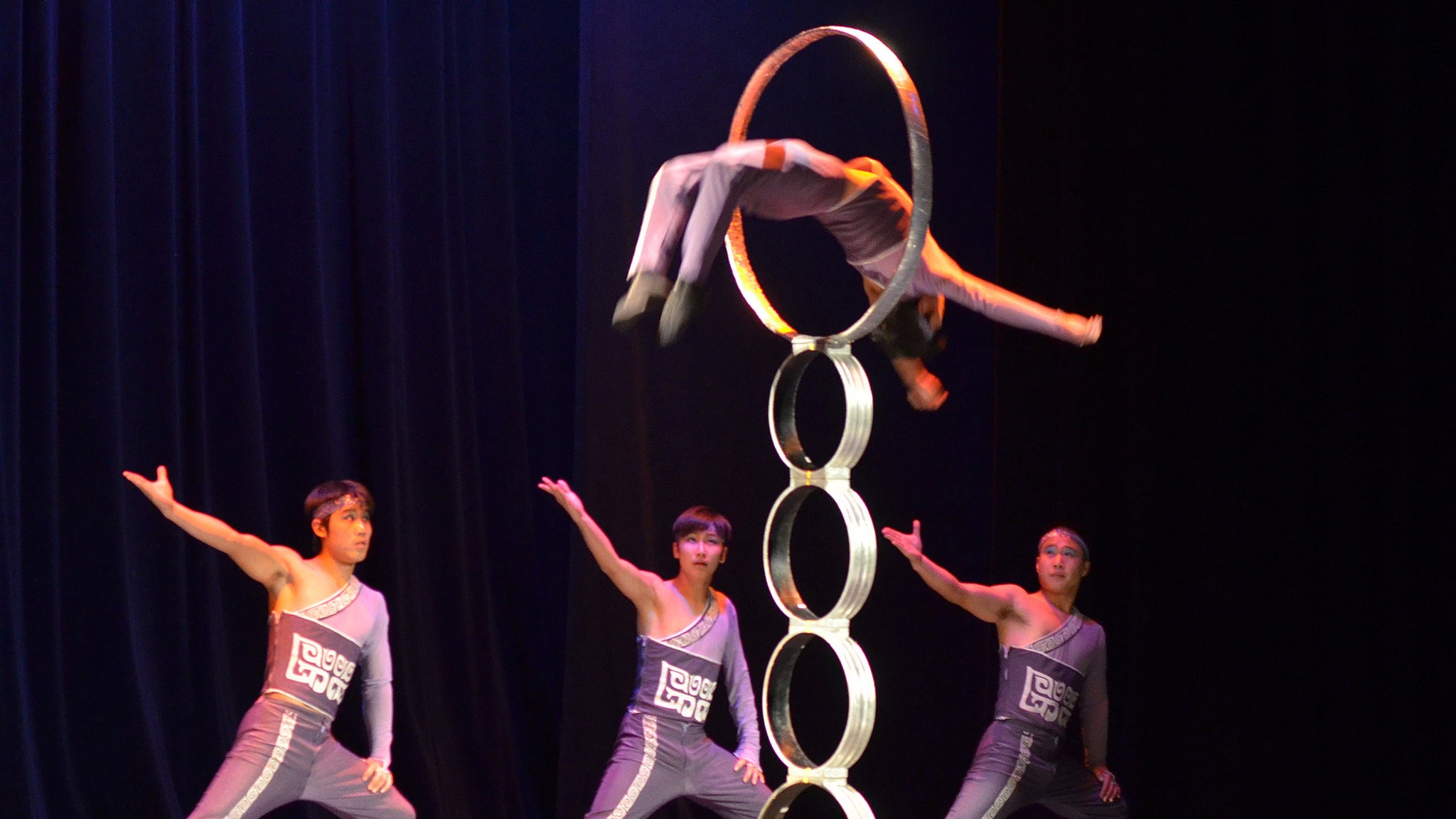 Golden Dragon Acrobats at Tilson Auditorium