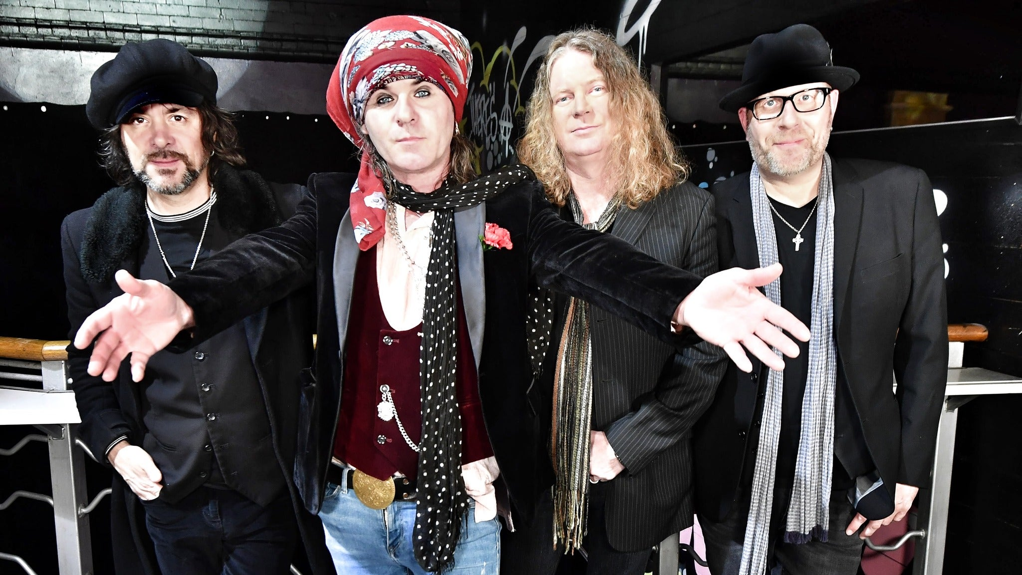 The Quireboys tickets (Copyright © Ticketmaster)