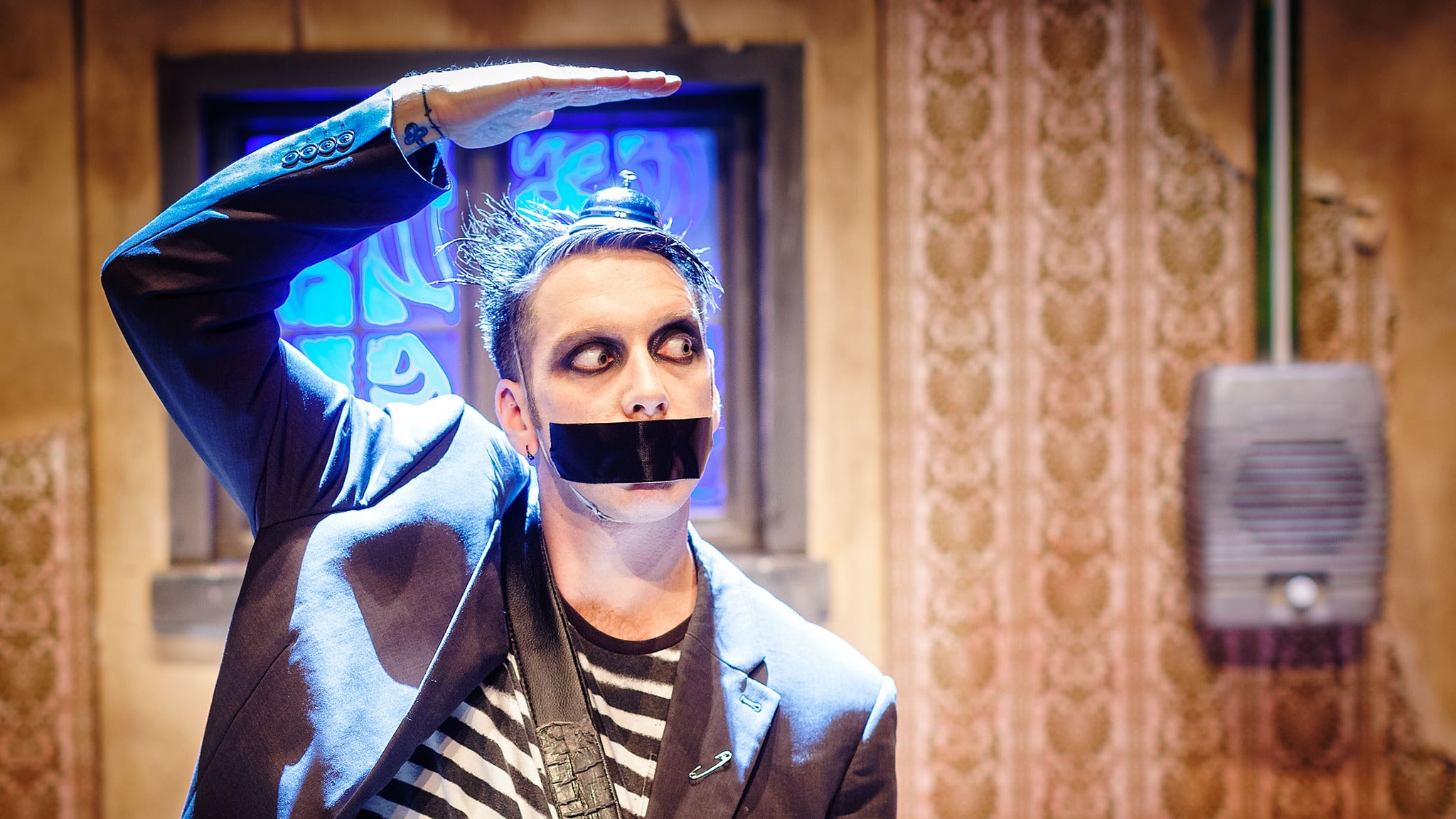 Tape Face at Center Stage Theater