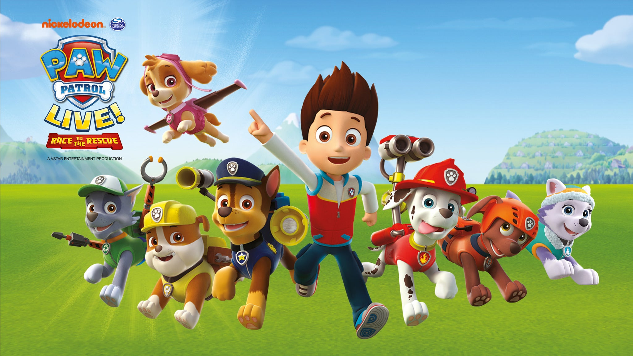 PAW Patrol Live! at Rochester Auditorium