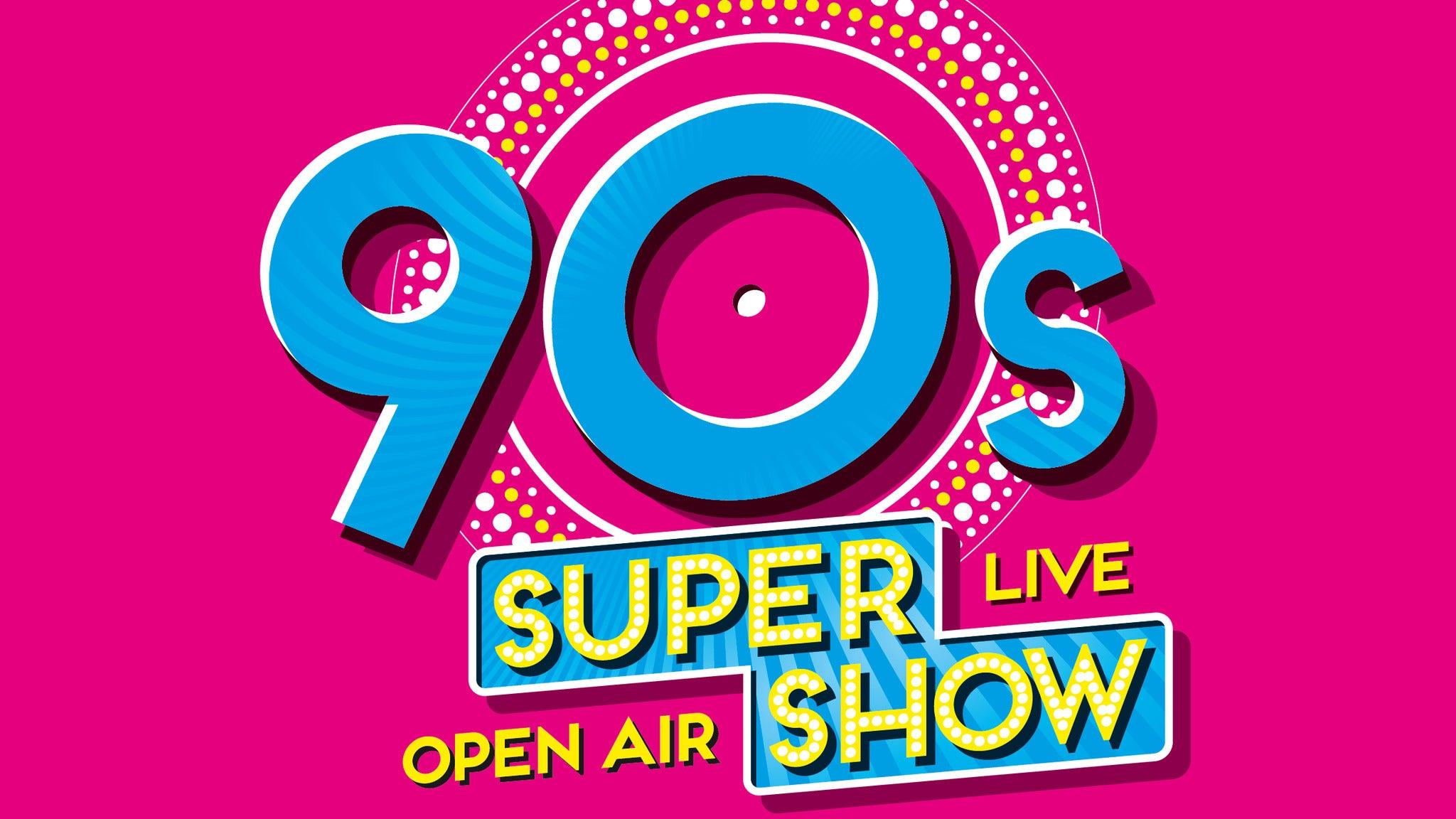 90s Super Show Berlin - live & open air