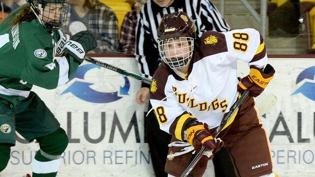 University of Minnesota Duluth Bulldogs Womens Hockey