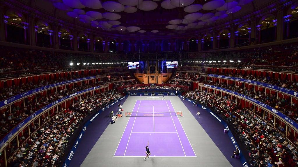 Champions Tennis 2018 Royal Albert Hall Seating Plan