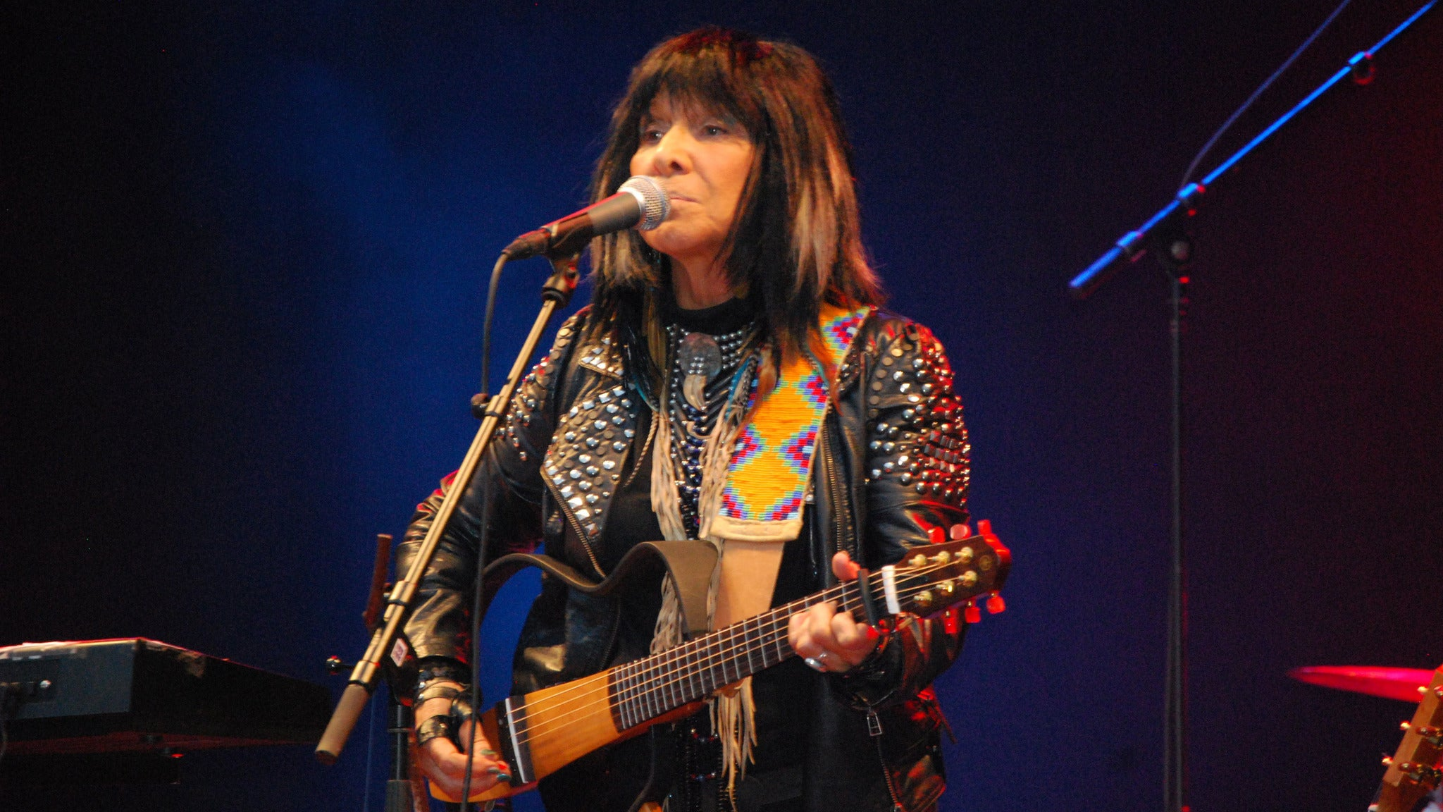 Buffy Sainte-Marie at Bing Crosby Theatre