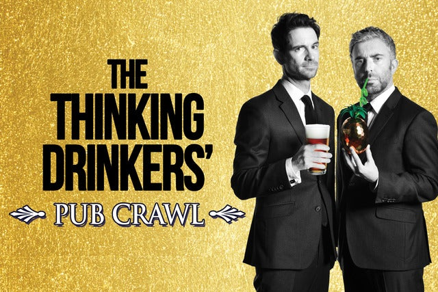The Thinking Drinkers: Pub Crawl Seating Plan The Lowry