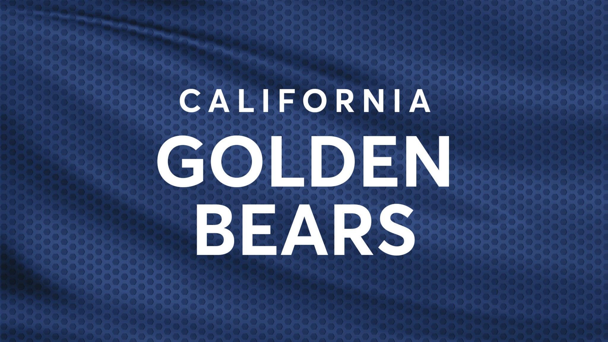 California Golden Bears Mens Basketball