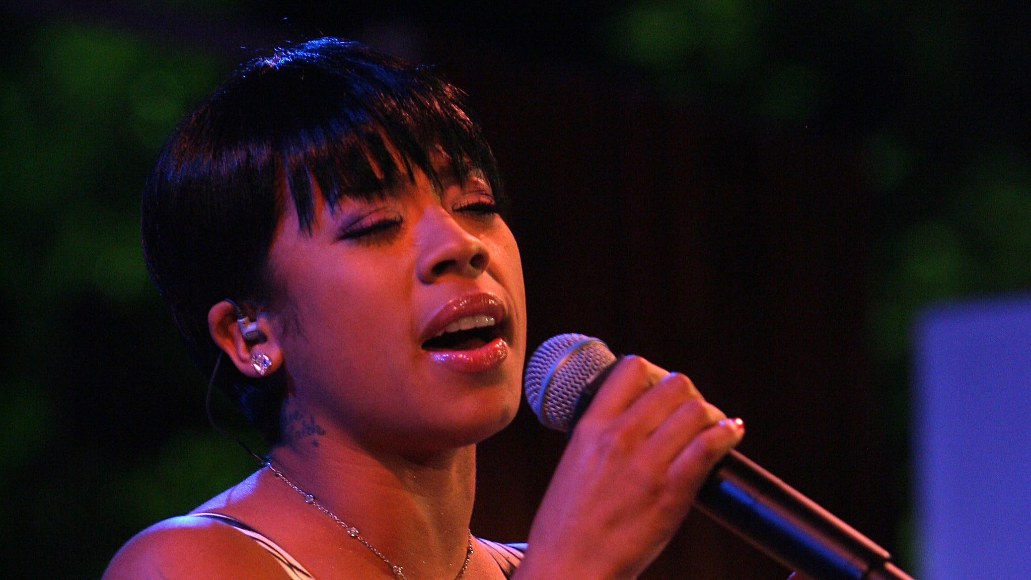 Keyshia Cole and Donnell Jones at Shubert Theatre