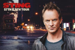 Sting & Shaggy - 44/876 UK Tour 2019 - VIP Packages Seating Plans