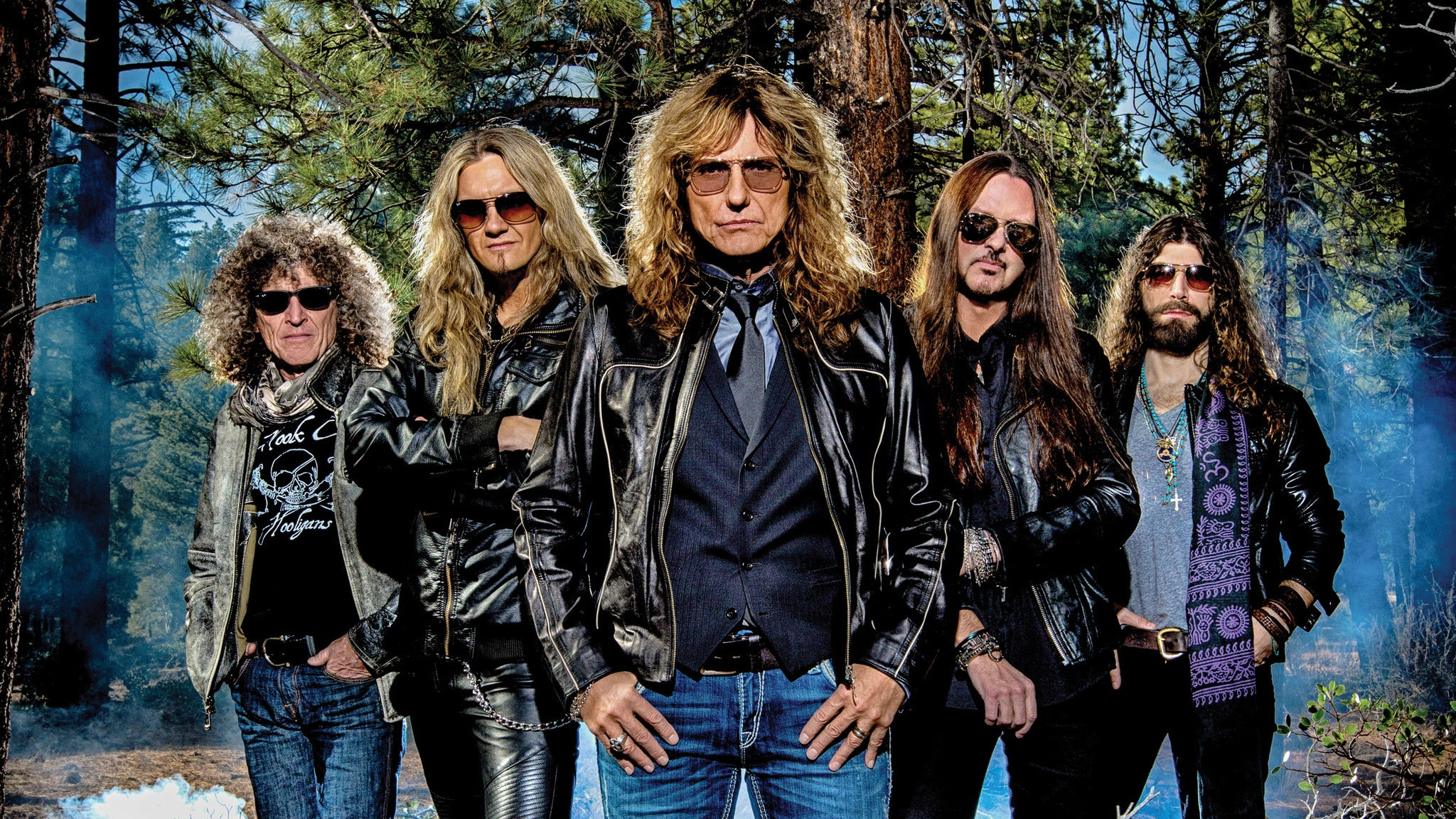 Whitesnake at Penn's Peak - Jim Thorpe, PA 18229