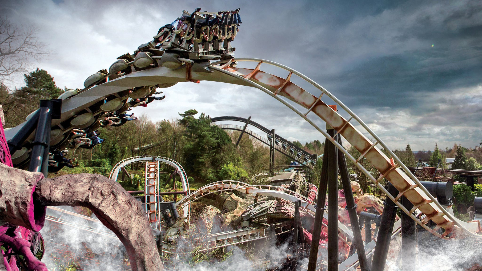 Alton Towers Theme Park - One Day Entry Event Title Pic