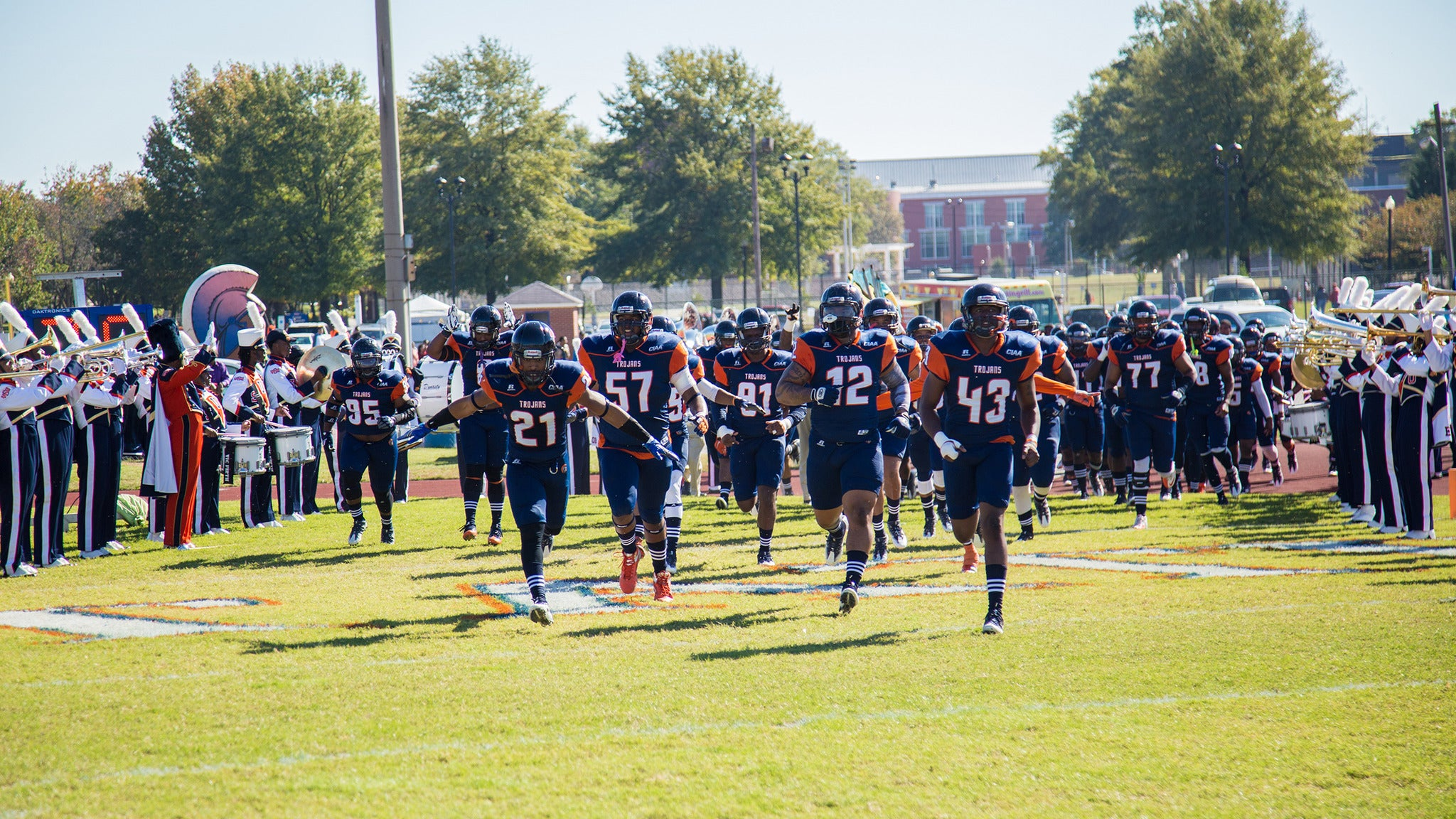 Virginia State Trojan Football V. Johnson C. Smith University