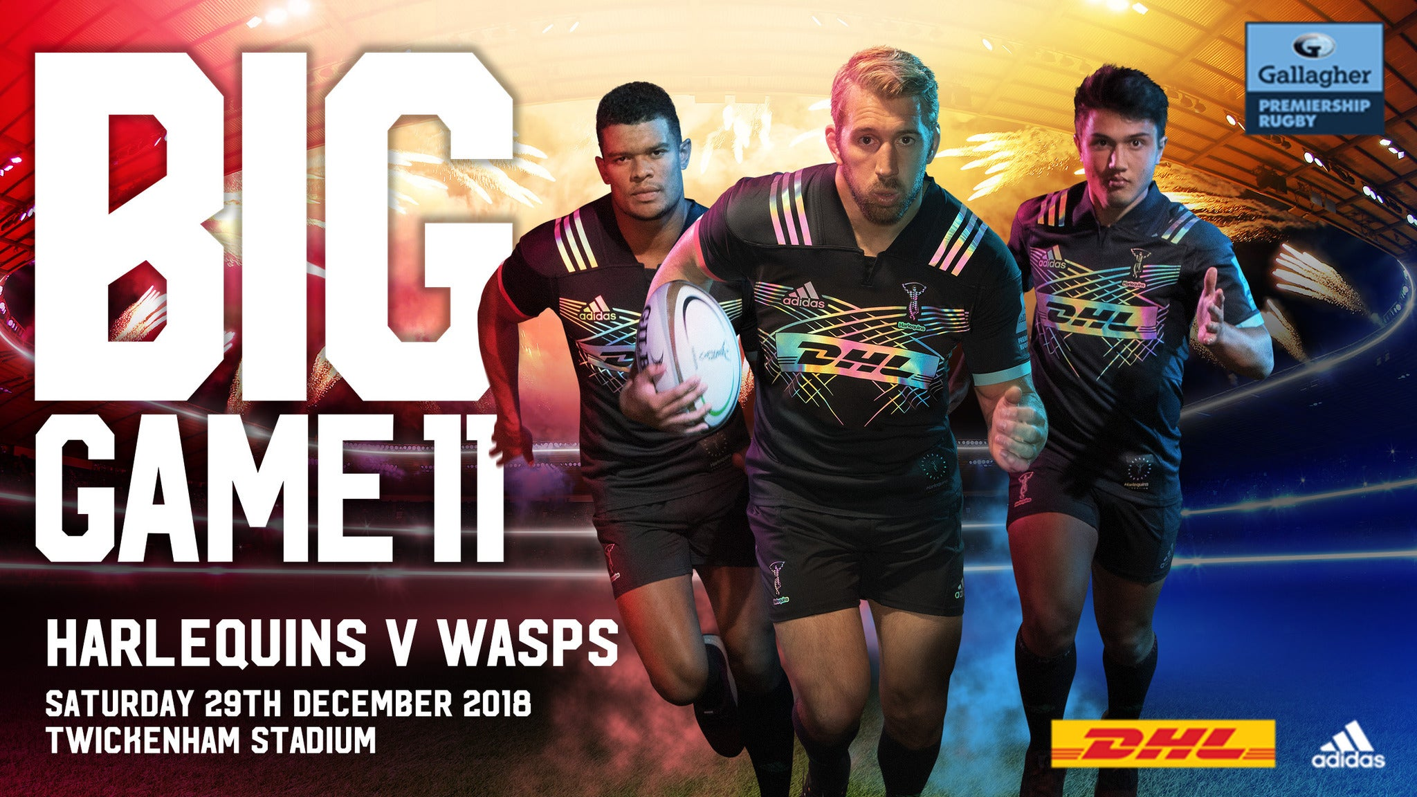 Big Game 11: Harlequins v Wasps Seating Plans