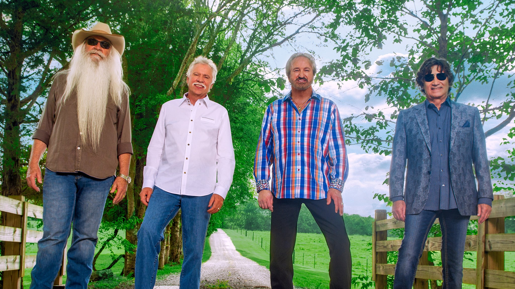 Oak Ridge Boys at Palace Theatre-Greensburg