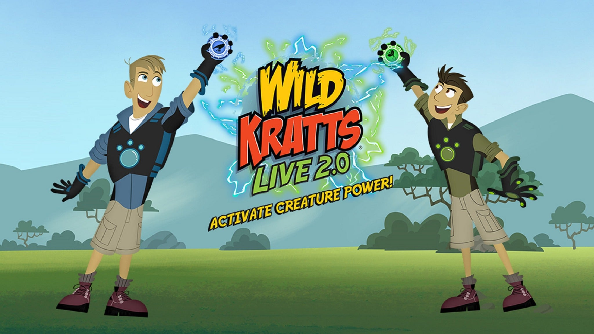 The Wild Kratts Live! at Palace Theatre Stamford