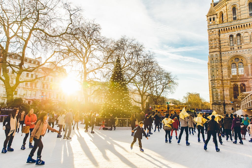 Natural History Museum Ice Rink Review